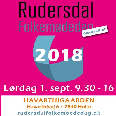 Rudersdal Folkemødedag 1.September 2018