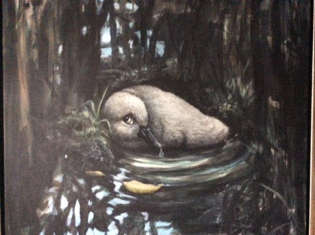 Kunstudstilling med malerier af Lars Peter Holm 5. til 18. oktober